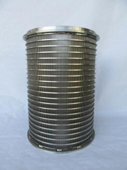 Siebkorb passend für Agrikomp/Quetschprofi - Spaltmaß 1,00mm
